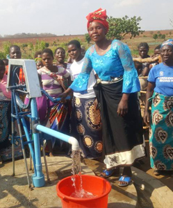 Donate a water pump.